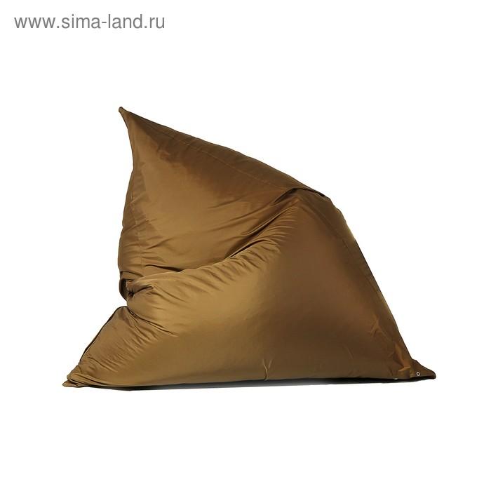 """Кресло-мешок """"Пирамида"""", L, 140/h100/w120, цвет коричневый"""