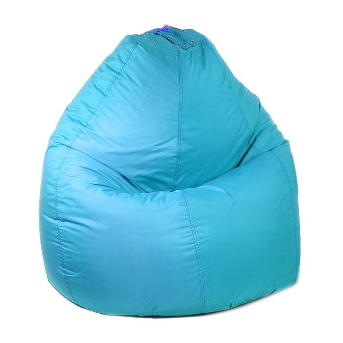 Кресло-мешок универсальное, d90/h120, цвет бирюза - фото 1574394