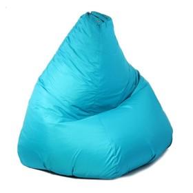 """Кресло-мешок """"Капля"""", S, d85/h130, цвет бирюза"""