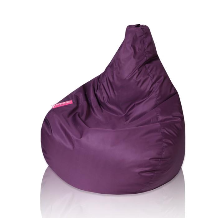 """Кресло-мешок """"Капля"""", d85/h130, цвет фиолетовый"""
