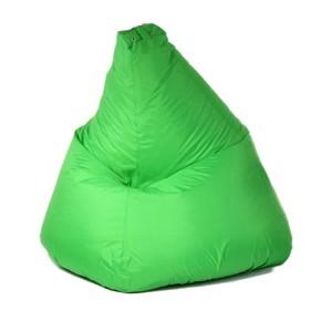 """Кресло-мешок """"Капля"""", S, d85/h130, цвет ярко-салатовый"""