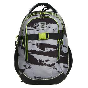 Рюкзак молодёжный эргономичная спинка, Kite 816, 45 х 32 х 14, чёрный/серый