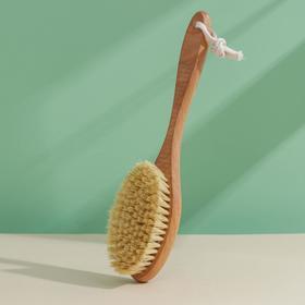 Щётка для сухого массажа, класс М, 112 пучков
