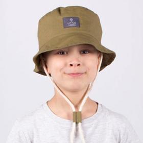 Панамка для мальчика, цвет хаки, размер 46-48