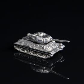 """Фигурка """"Коллекция Танки. Танк Т-34-85"""", латунь"""