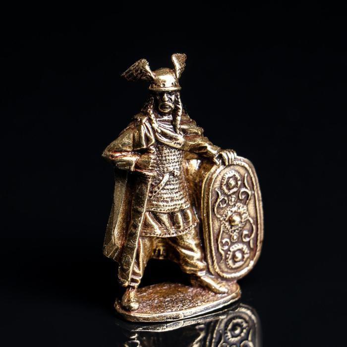 "Солдатик ""Римляне и Галлы. Джодок"", латунь - фото 106969286"