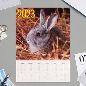 """Календарь листовой А4 """"Символ года - 2022 - 9"""""""