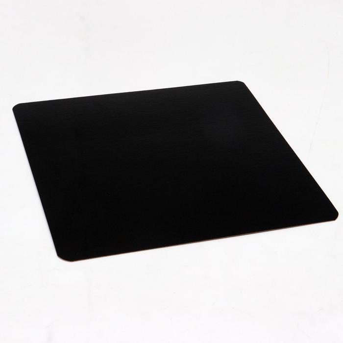 Подложка ламинированная, черно-белая, 29 х 29 см, 0,8 мм - фото 9215636