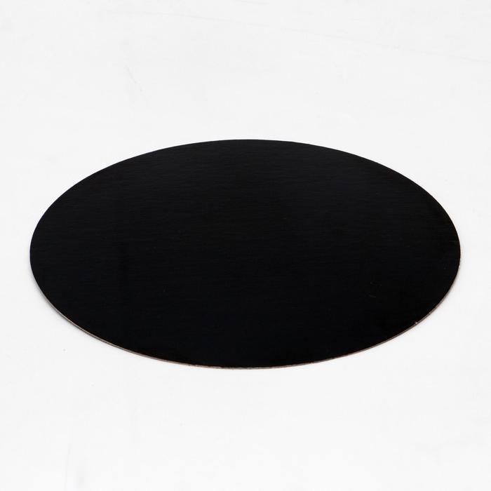 Подложка ламинированная, черно-белая, 20 см, 0,8 мм - фото 9215646
