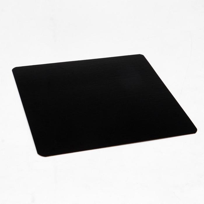 Подложка ламинированная, черно-белая, 24 х 24 см, 0,8 мм - фото 9215648