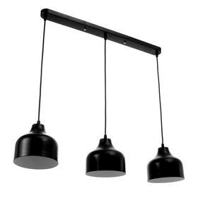 Светильник 1115/3, 3х40Вт Е14, цвет чёрный