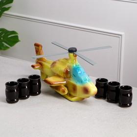 """Набор для коньяка """"Вертолет"""", 7 предметов в наборе, 1,1 л/0.08 л, микс"""