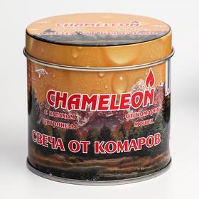 """Свеча репеллентная """"Chamelion"""", от комаров, в банке, 1 шт"""