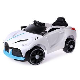 Электромобиль «Купе», цвет белый