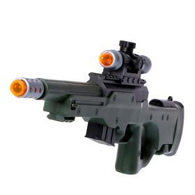 Ружье «Диверсант», световые и звуковые эффекты, работает от батареек