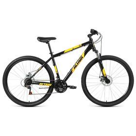 """Велосипед 29"""" Altair AL D, 2021, цвет черный/оранжевый, размер 17"""""""