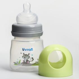 Бутылочка для кормления с широким горлышком, 125 мл. ZOO, цвет МИКС