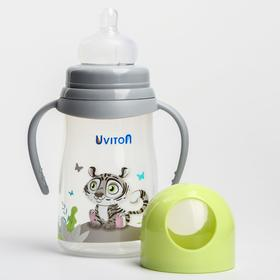 Бутылочка для кормления с широким горлышком, 250 мл. ZOO, цвет МИКС