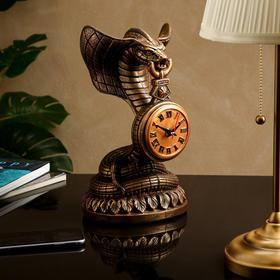 """Часы """"Кобра"""" №13, коричнево-золотистые"""