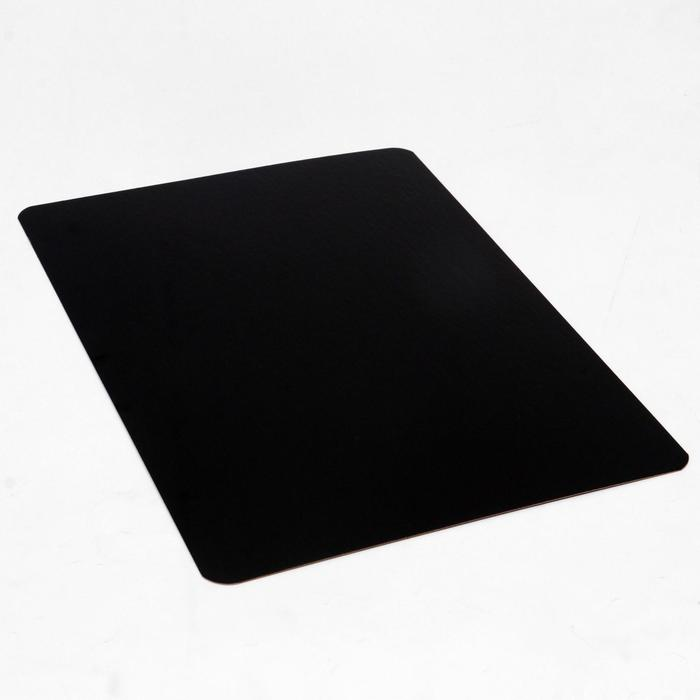 Подложка ламинированная, черно-белая, 27 х 38 см, 0,8 мм - фото 9215676