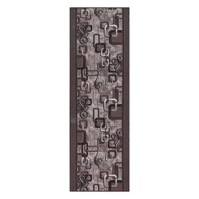 Дорожка ковровая 1594/а2 цвет 100 80х300 см, войлок, ПА 100%