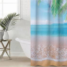 Bathroom curtains Beautiful Sea, 145 × 180 cm, Oxford.