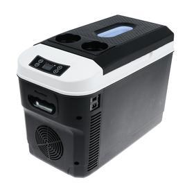 Холодильник автомобильный 15 л, 12/24/220 В, 68 Вт, -10/+65°С, LED дисплей