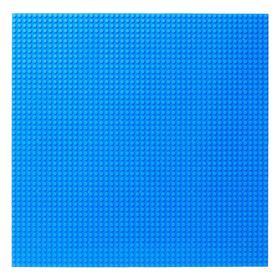 Пластина основание для конструктора «Игровое поле», 40×40×0,5 см, цвет синий