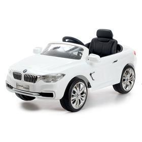 Электромобиль BMW 4 series, цвет белый