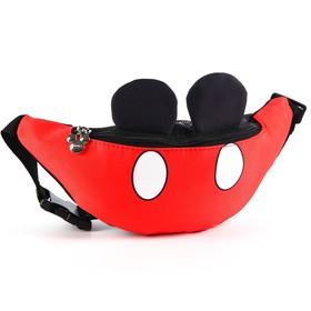"Сумка поясная текстильная ""Mickey Mouse"" Микки Маус"
