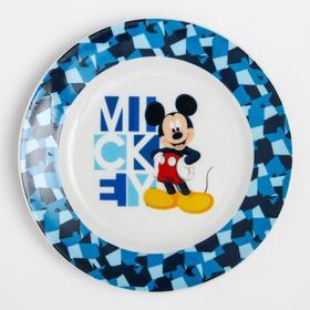 """Тарелка керамическая """"Mickey"""", Микки Маус и его друзья, 170 мм"""