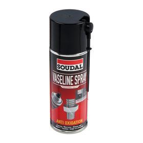 Вазелиновая смазка Soudal Vaseline Spray, 400 мл