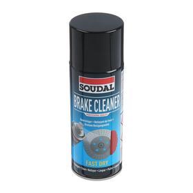 Очиститель деталей тормозов Soudal BRAKE CLEANER, 400 мл
