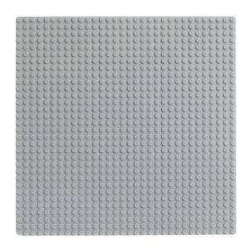 Пластина-основание для конструктора, 25,5×25,5 см, цвет серый