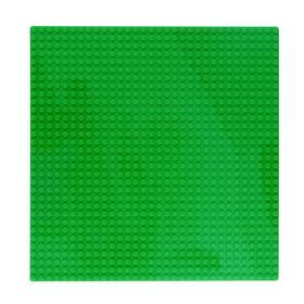 Пластина-основание для конструктора, 25,5×25,5 см, цвет салатовый