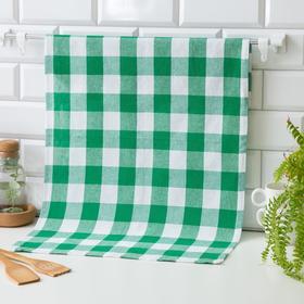 Кухонное полотенце 45*70, Green wide,80% хлопок, 20 п/э