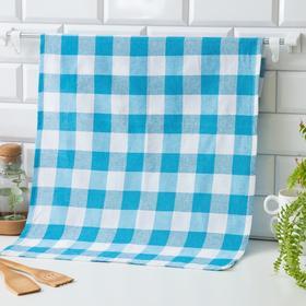 Кухонное полотенце 45*70, Blue wide,80% хлопок, 20 п/э