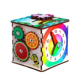 Бизикубик для детей «Развивающий куб»
