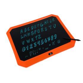 """Планшет для рисования и заметок LuazON, 17"""", функция блокировки, оранжевый"""