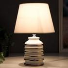 Лампа настольная 16610/1WT E14 40Вт бело-золотой 20х20х32,5 см - фото 597200