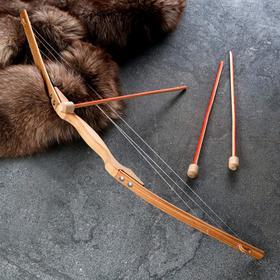 """Сувенирное деревянное оружие """"Лук"""", 80х15 см, массив бука"""
