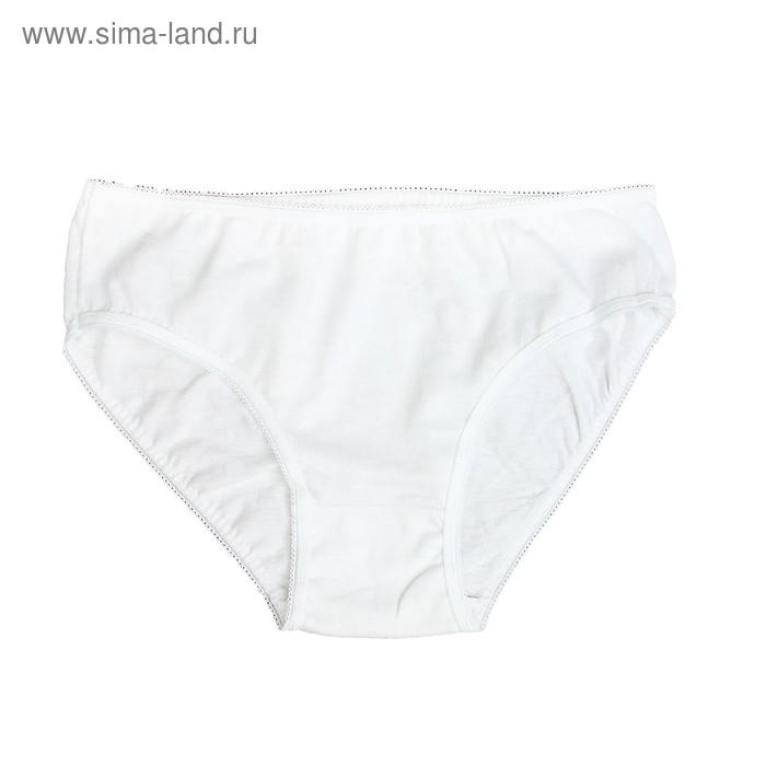 Трусы для девочки, рост 86 см (26), цвет белый 7120