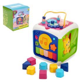 Развивающая игрушка «Куб», с сортером