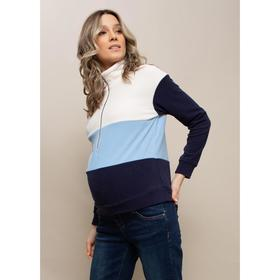 Толстовка для беременных «Палмер», размер 46, цвет синий
