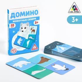 Развивающая игра «Домино. Животные севера», 3+