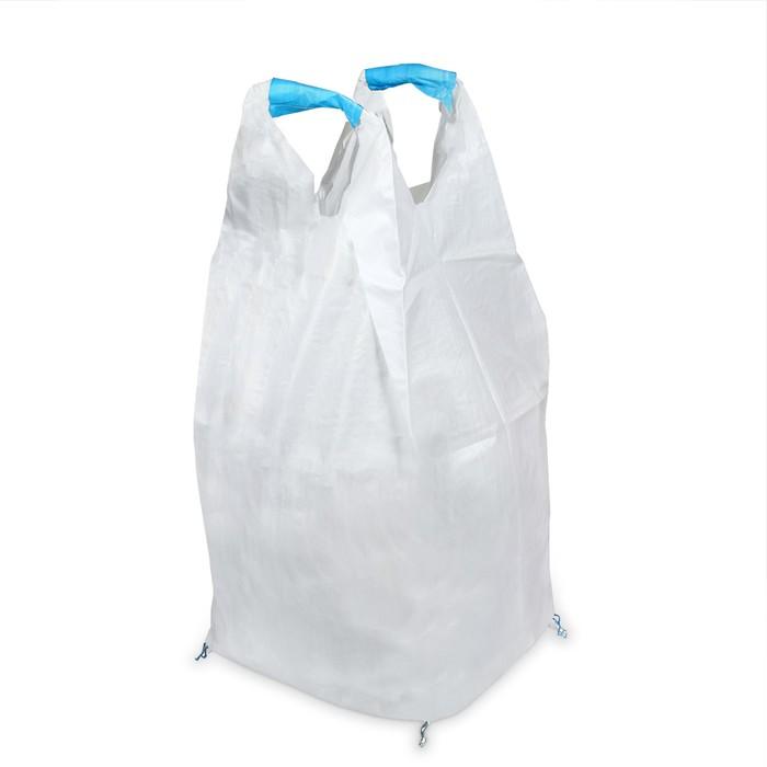 Контейнер МКР, 1000 кг, 75 × 75 × 140 см, сплошное дно, 2 стропы, «Майка» - фото 9216038