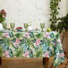 Скатерть Доляна Tropical garden 150*180 +/- 2 см, 100% п/э - фото 9216054