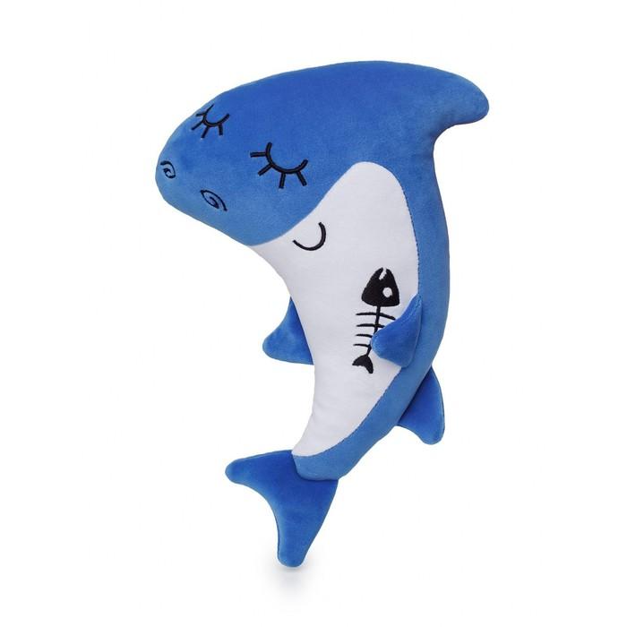 Мягкая игрушка «Акуленок» 34 см - фото 9216153