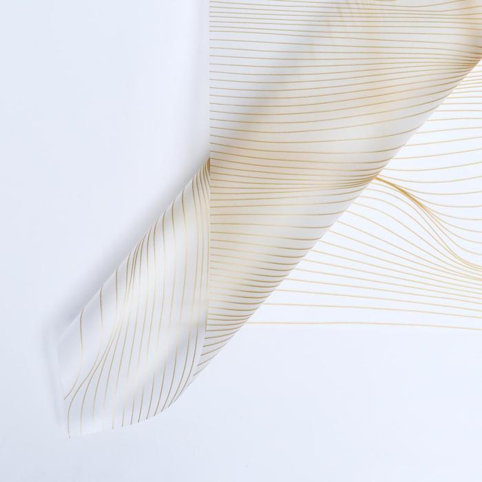 """Пленка матовая, """"Нежность"""",  58*58 см, белый - фото 9216174"""