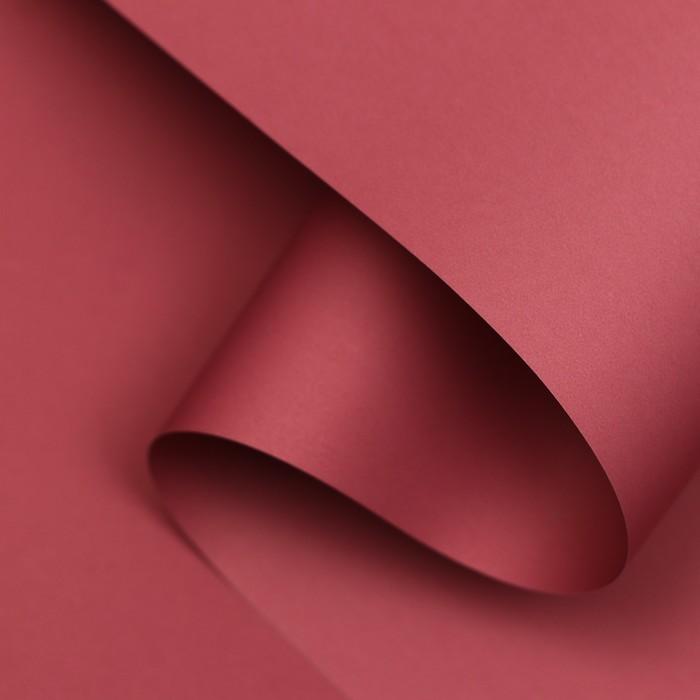 Пленка матовая, 65 микрон, Викторианская роза, 58см*10м - фото 9216217